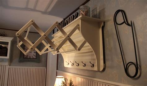 Pull Out Drying Rack practical laundry rack designs that don t stand out