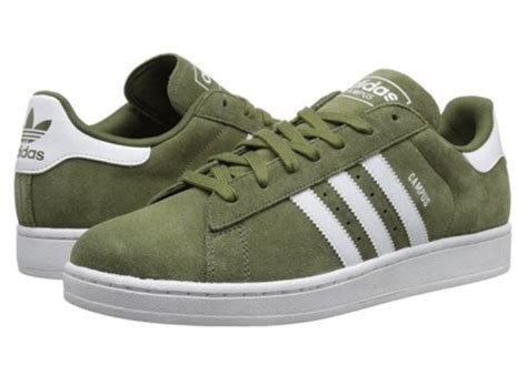 shoes adidas campus olive green wheretoget