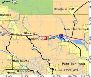outlets in california map cabazon california ca 92230 profile population maps