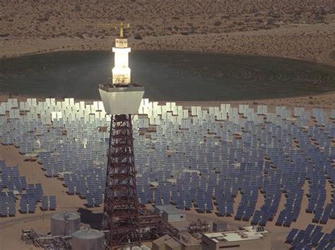 solar light projects california s molten salt solar energy project gets
