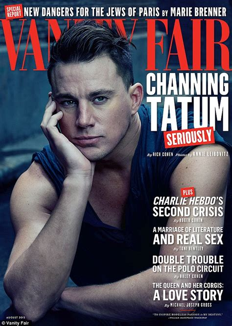 channing tatum insists he never channing tatum says he could return to magic mike past