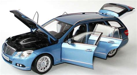 Paket Mini Lulur Hb 1 18 mercedes e klasse t modell s212 indigolith blau blue dealer edition oem ebay