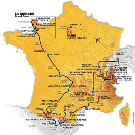 libro france 2018 tourist 97 tour de france 2016 parcours en etappes