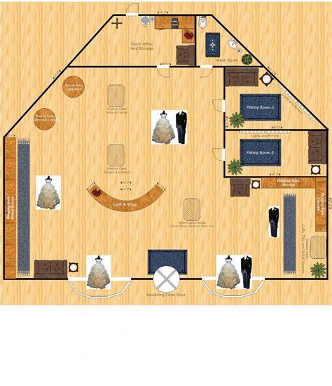 wedding shop layout floorplan meredithstang