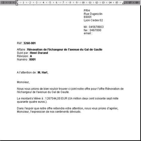 Exemple De Lettre Qui Accompagne Un Devis Afficher Exemple De Lettre D Accompagnement Devis