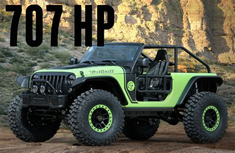 jeep wrangler hellcat new jeep trailcat with hellcat engine in wi