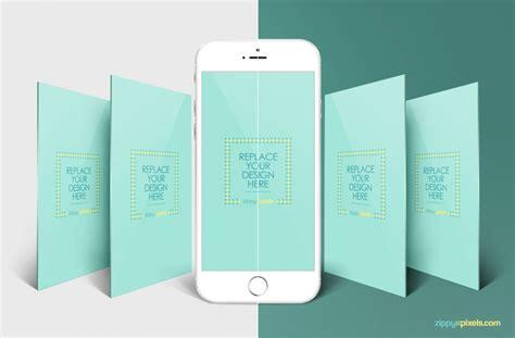 design mockup app free iphone perspective app screen mockup zippypixels
