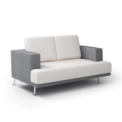 3d couch model modern gray sofa 3d model cgtrader com