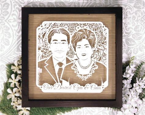 Kado Unik Ulang Tahun Anniversary Wedding Dll opa oma cutteristic