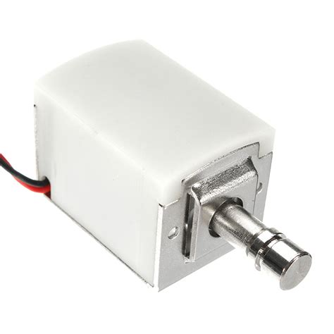 Kr04037 Locking Solenoid 6 12volt Dc 12v dc 1 5a mini electric bolt lock cylindrical sauna cabinet drawer solenoid lock alex nld
