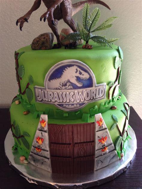Jurassic Park Cake Decorations by Jurassic World Cake Jurassic World Awesome