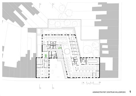 admin building floor plan gallery of willebroek administration building brut 34
