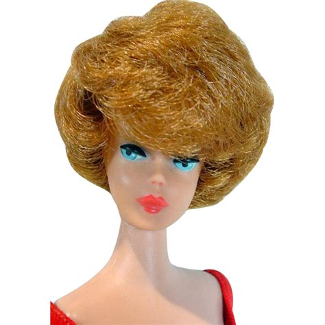 vintage bubble cut barbie hair colors vintage mattel 1963 bubble cut barbie with titian hair