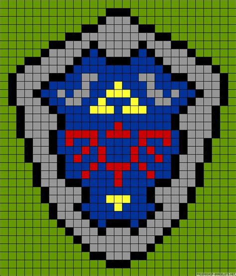 nintendo perler bead patterns legend of perler bead pattern crochet patterns