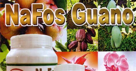 Pupuk Nafos Guano seribu agro pupuk oganik berkualitas