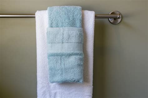 where to hang towels in small bathroom how to hang bathroom towels decoratively with pictures