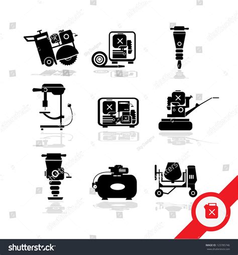 working tools flat icon set stock vector image 40282698 working tools icon set 3 stock vector illustration