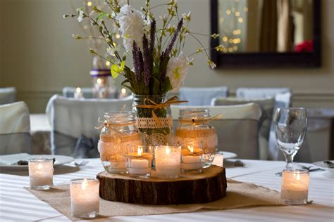 wood slices for table centerpieces accessories wedding events atlanta centerpiece