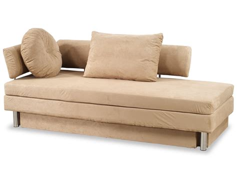 sofa queen bed nubo khaki microfiber queen size sofa bed by at home usa