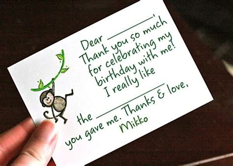 Thank You Cards With Writing Inside