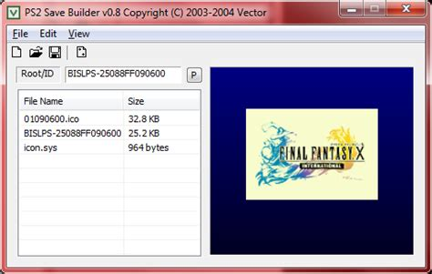game ps2 format rar guide convert pcsx2 memory cards or ps2 psv files to ps2