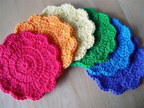 etsy pattern free pdf crochet pattern simple little coasters
