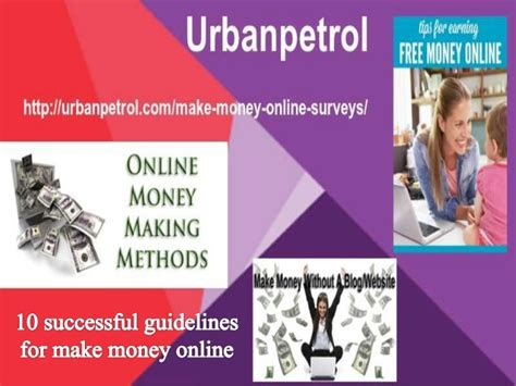 How To Make Money In Usa Online - how to make money online