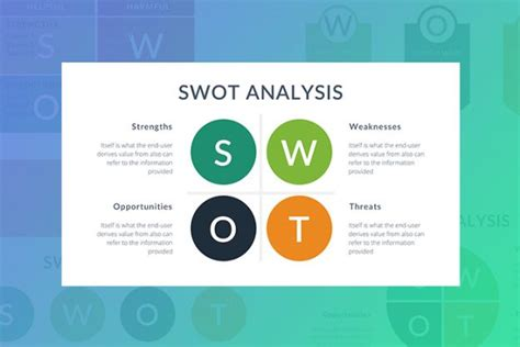 swot analysis template archives slidesmash