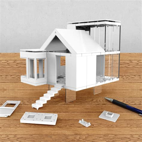 architectural model kits arckit go arckit touch of modern