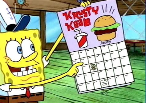 Calendario Wiki How Categor 237 A D 237 As Festivos Bob Esponja Wiki Fandom