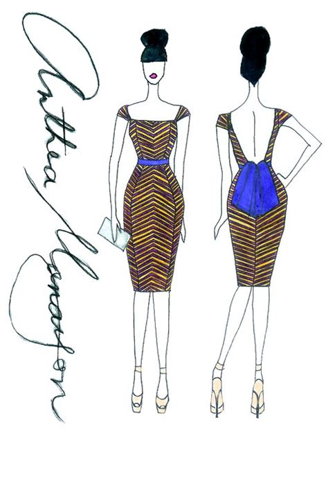 fashion illustration front and back fashion sketch 4 by theyonce on deviantart