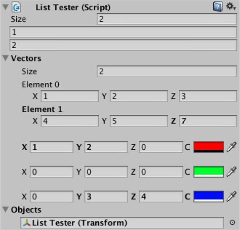 unity layout element tutorial custom list a unity c editor tutorial