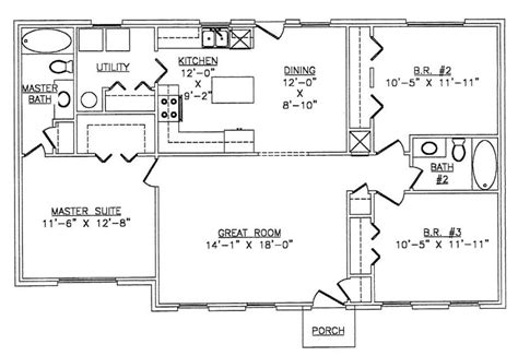 metal frame homes floor plans the lth016 lth steel structures