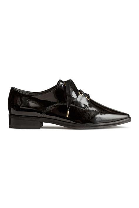 h m oxford shoes patent leather oxford shoes black sale h m us