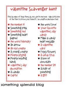 valentines day scavenger hunt clues 17 best ideas about purse scavenger hunts on