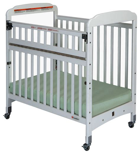 Adjustable Baby Cribs by Compact Safereach Crib With Adjustable Mattress Board