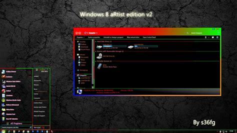 theme windows 7 visual style artistic visual style for windows7