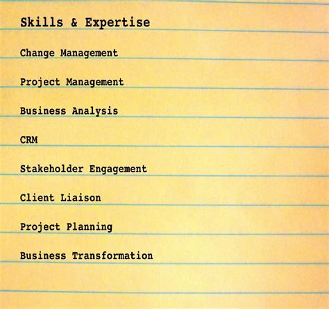 resume skills examples weve highlighted for you the resume skill