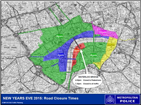 new year road closures our south banknew years road closures our south bank