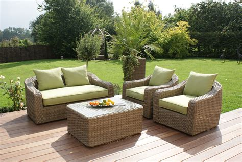 garden furniture maze rattan milan rattan garden rounded 2 seater sofa set
