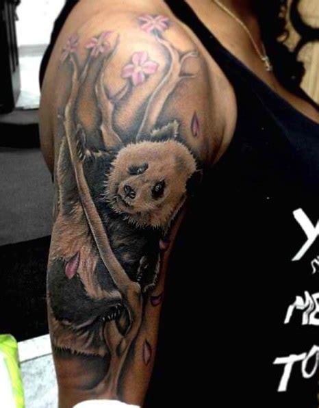 panda handstand tattoo 246 best tattoo bears images on pinterest panda tattoos