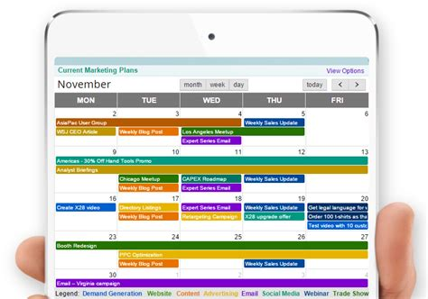 best program to make a calendar marketing calendar and planning software