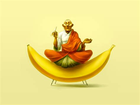funny banana wallpaper hd 20 amazing beautiful digital art desktop wallpapers in