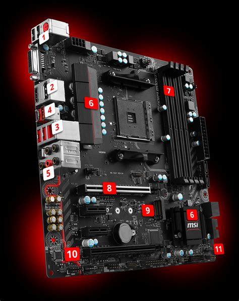 Msi B350m Mortar by Overview For B350m Mortar Motherboard The World Leader