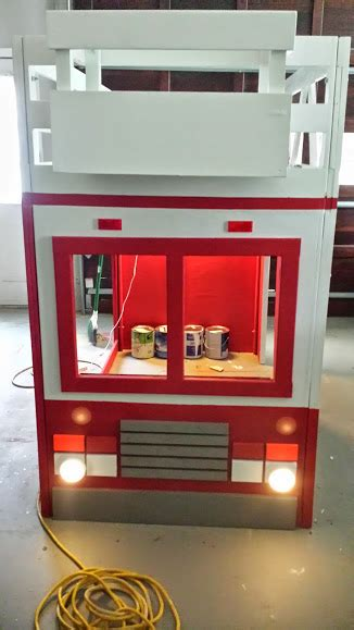fire truck bed with slide fire truck bed exle holiday s custom kids beds