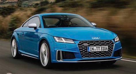 2019 Audi Tt Rs by 2019 Audi Tt Facelift Leaked Tts Loses 4 Hp Tt Rs Looks