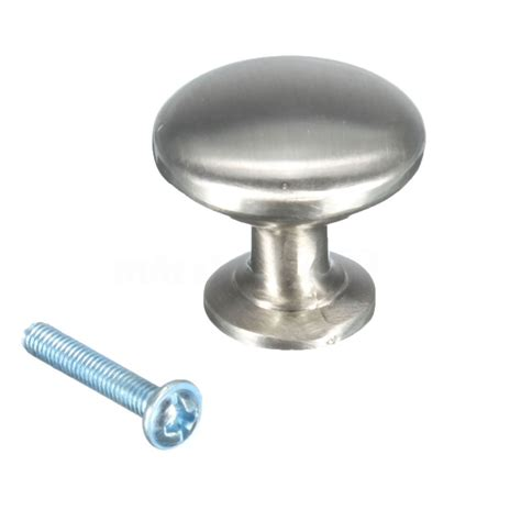 brass cabinet door knobs 30mm round cupboard kitchen drawer furniture cabinet door