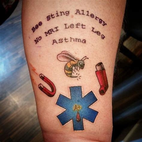 medical alert tattoo designs these are some amazing tattoos and a great way to