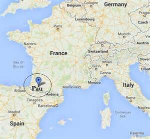 Pau France Map business study abroad study abroad pau france summer