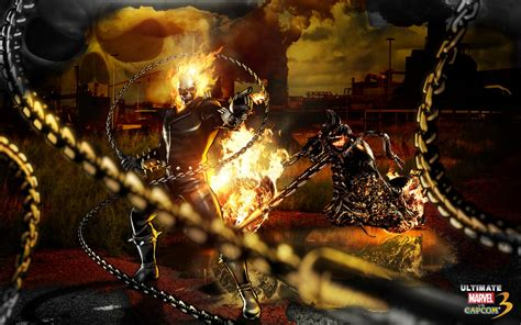 ghost rider marvel  capcom wallpapers hd wallpapers